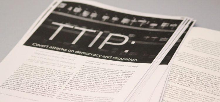 TTIP – Five Major Concerns
