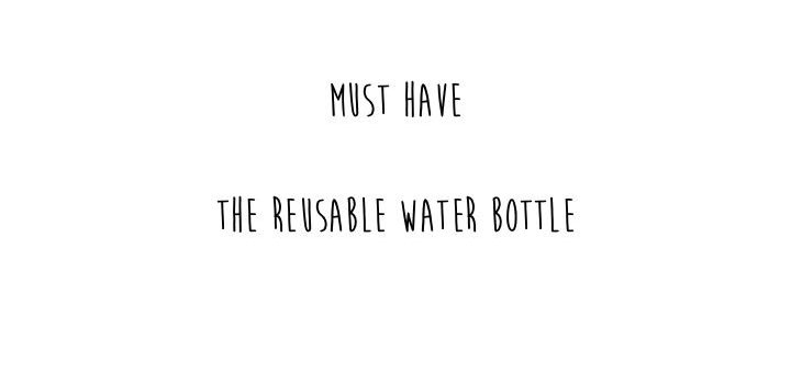 6 Tips for a cool reusable water bottle