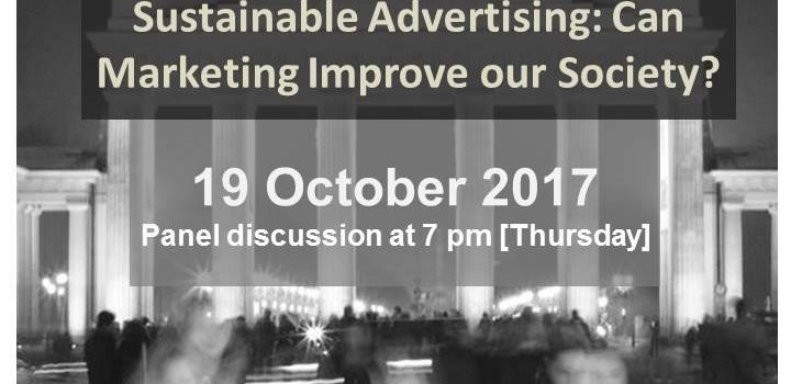 Sustainable Advertising: Can Marketing Improve our Society?