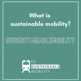 GreenBuzz supports EU Sustainable Mobility campaign